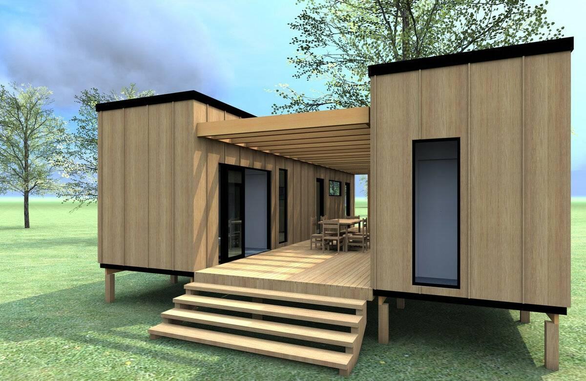 Модульные дома для круглогодичного проживания: 70 лучших идей