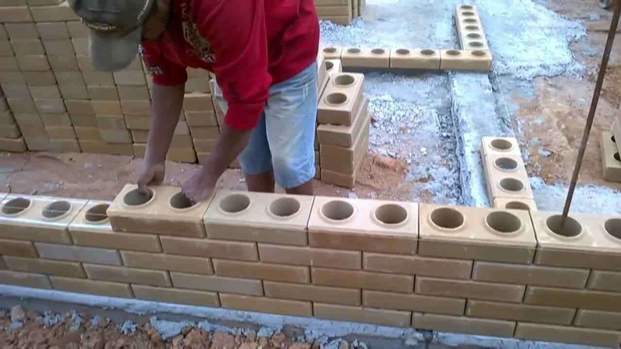 Колодцевая кладка стен из кирпича - плюсы и минусы