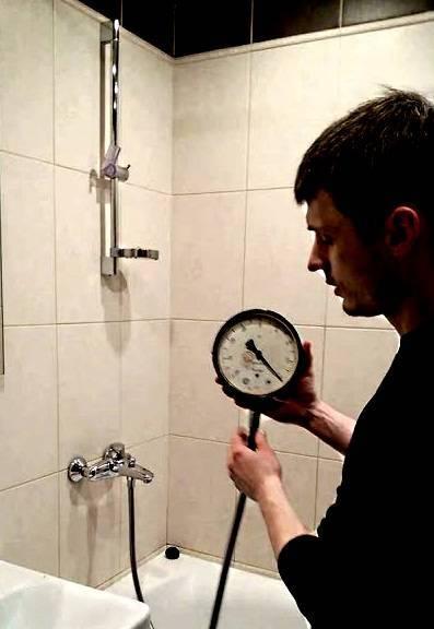Нормативы давления воды в водопроводных трубах