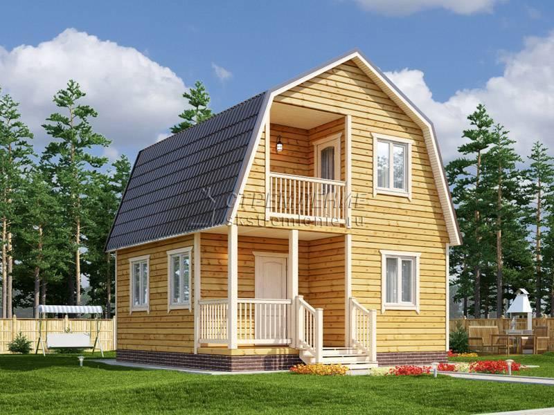 ?всё о домах из бруса с мансардой: от выбора материалов до строительства и планировки - блог о строительстве