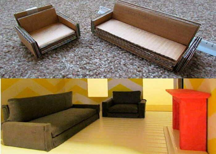 Пошаговая инструкция, как сделать кукольный домик своими руками: жилище для кукол из пенопласта и ламината