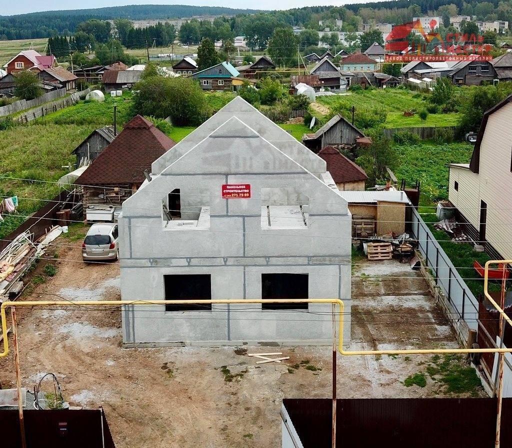 Дом из полистиролбетона: как изготовить, проекты (фото)