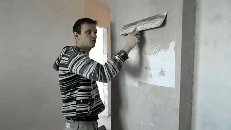 Как правильно шпаклевать стену