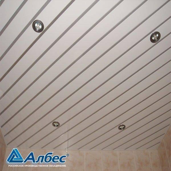 Алюминиевый потолок реечный: цена ремонта и комплекта, закрытые комплектующие