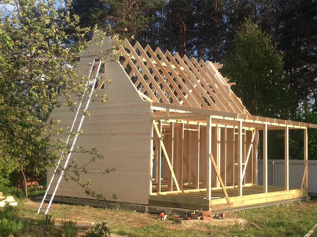 Строительство дачного домика своими руками: пример того, как построить самому