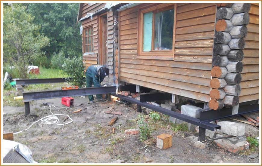 Как самостоятельно подвести фундамент под старый дом