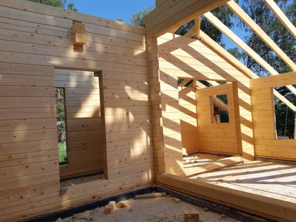 Проекты домов из сухого бруса. строим дома под ключ.