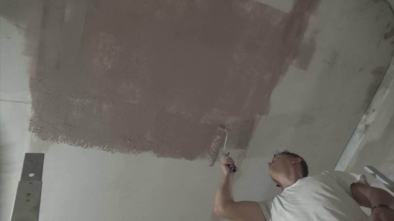 Типичные ошибки новичков при покраске потолка — познаем вопрос