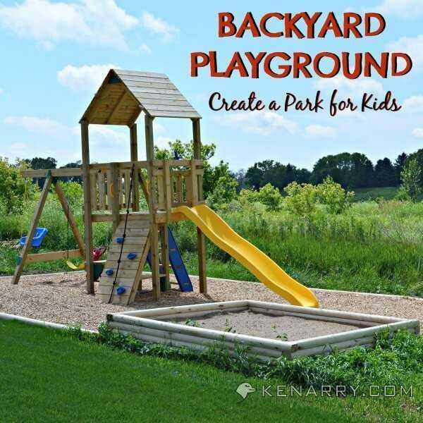 Детская площадка своими руками (63 фото): идеи оформления ограждения из дерева на даче. как сделать игровую площадку во дворе?