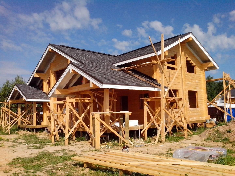 Как построить дом из клееного бруса самому?