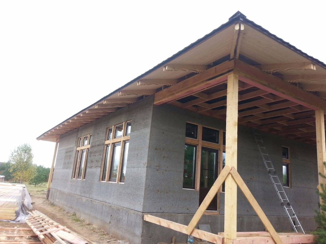 ????отделка фасада на основе цсп: практические советы - блог о строительстве