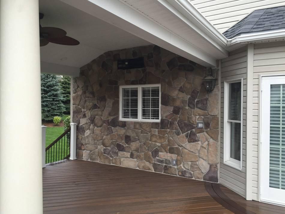 Облицовочный камень для фасада: разновидности и особенности монтажа