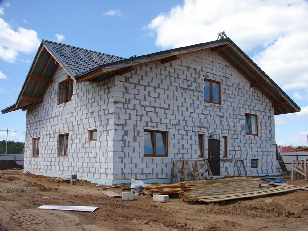 Дом из пеноблока, плюсы и минусы | строй сам