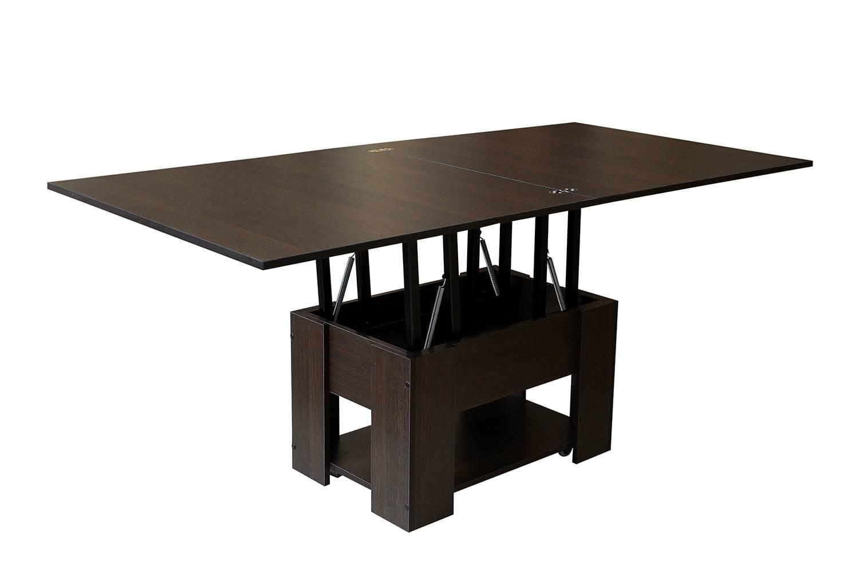 Журнальный стол трансформер для гостиной, виды изделий и как выбрать