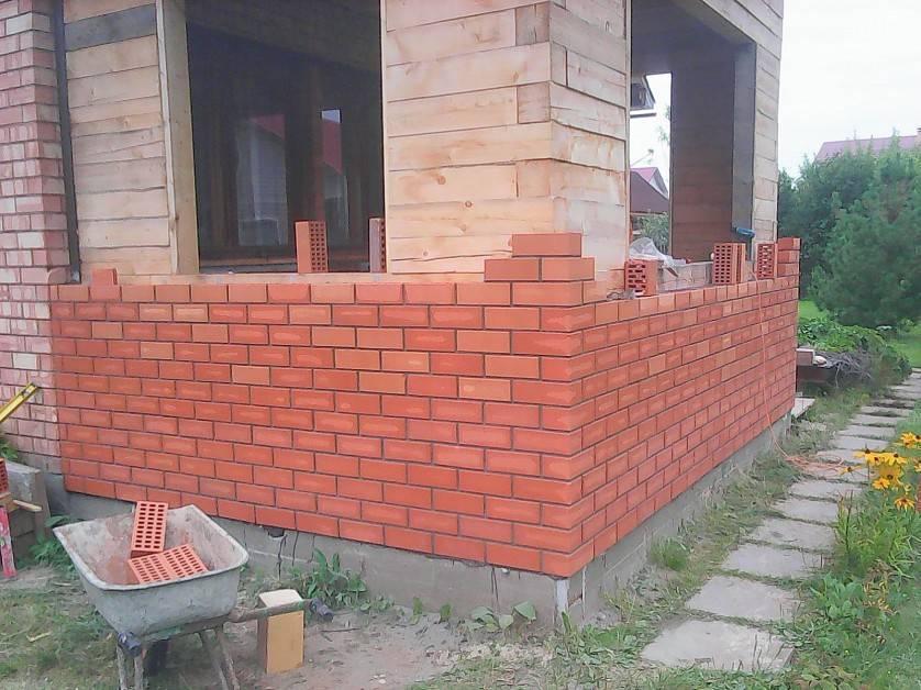 Кирпичные фасады дома. варианты облицовки и технология отделки
