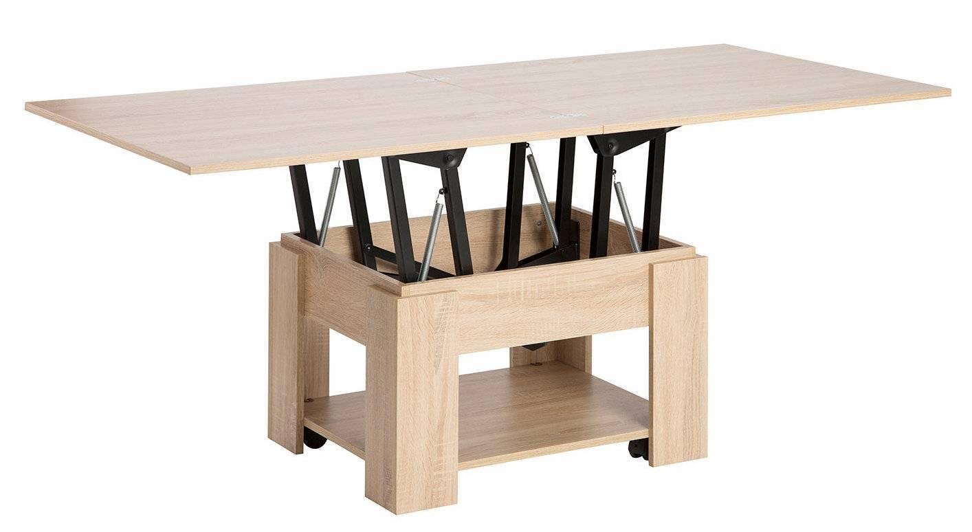 Стол трансформер для гостиной:фото, вариации конструкций