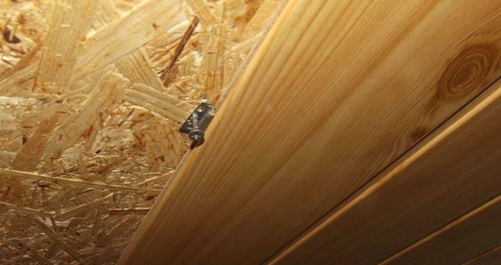 Монтаж на потолок и стены мдф панелей