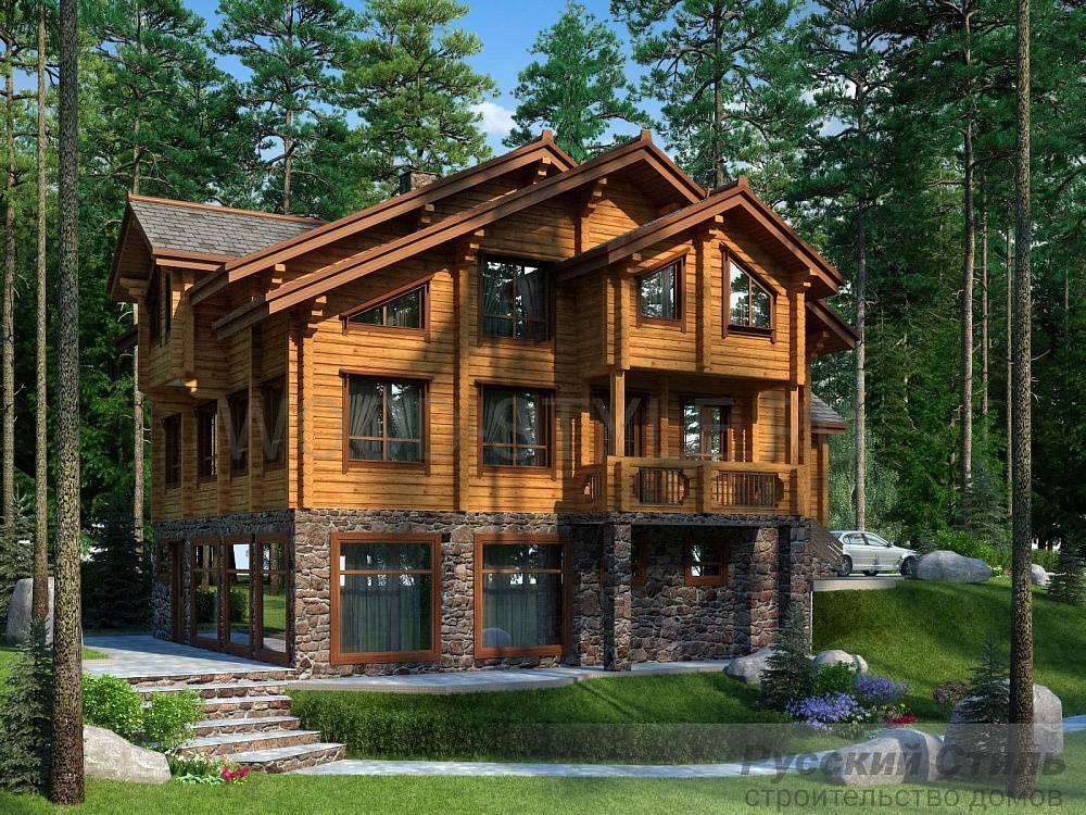 Проектирование деревянных домов с двумя этажами