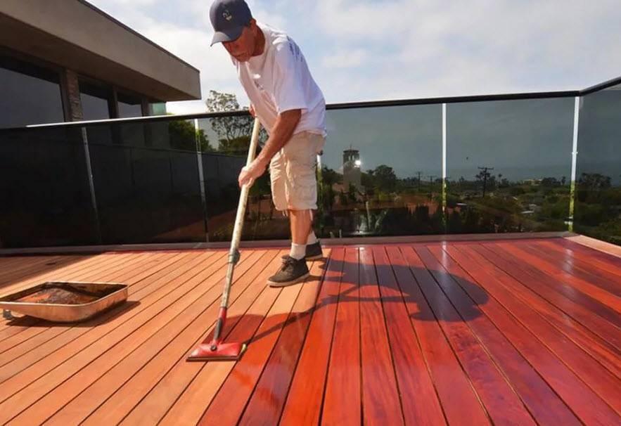 Акриловая краска для деревянных полов
