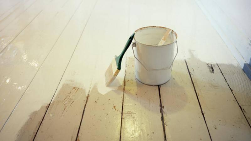 Покраска масляной краской внутри и снаружи дома