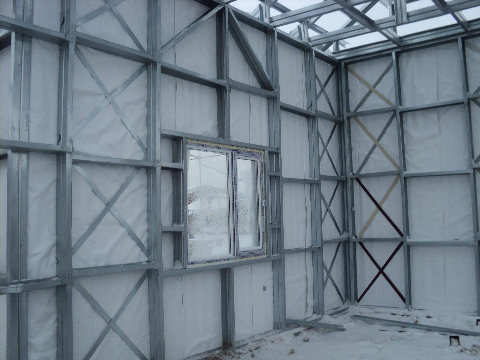 Конструктив лстк-стен