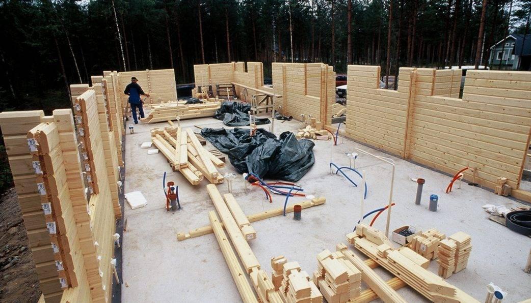 Дома из клееного бруса - строительство и проектирование