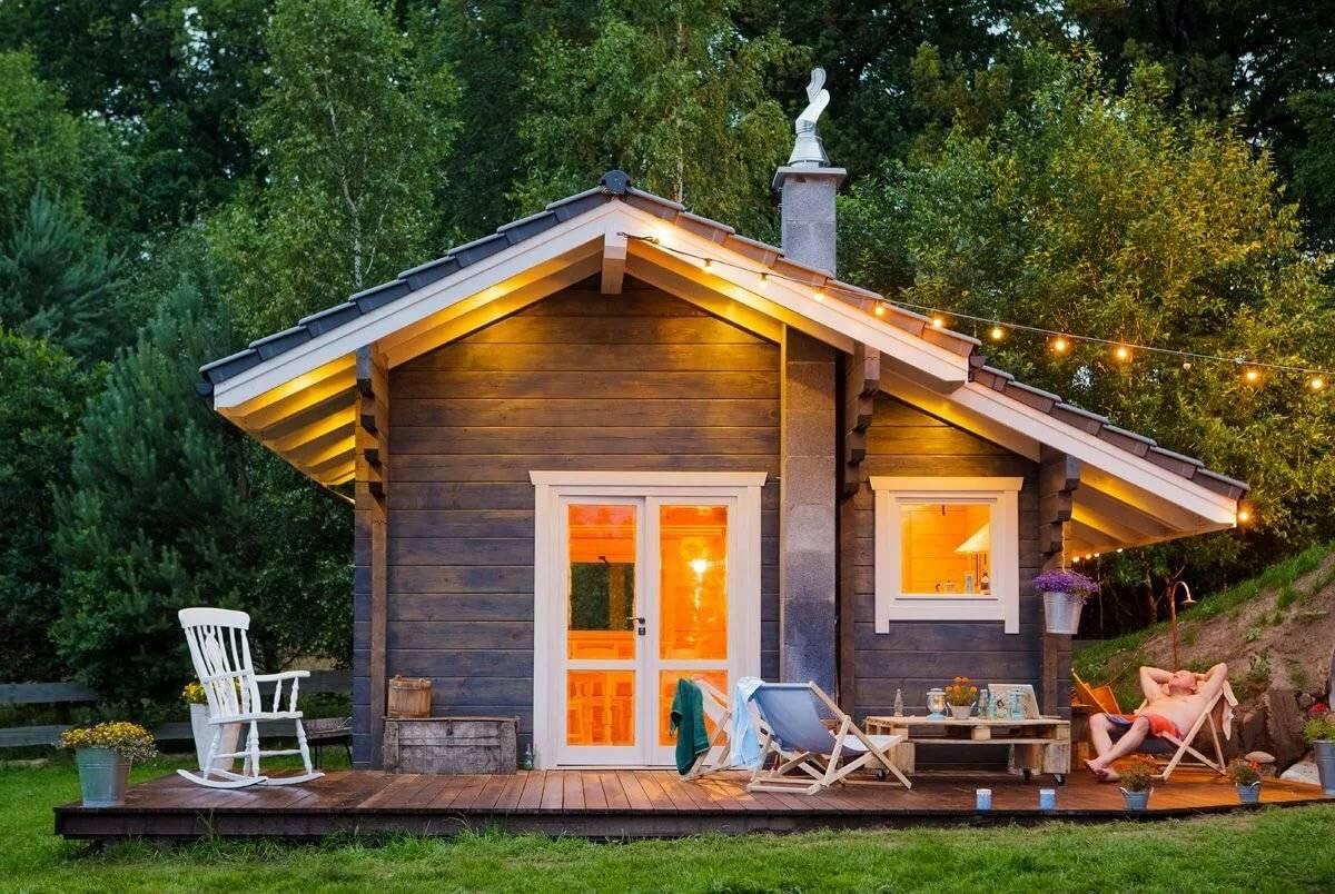 100 лучших идей: красивый дачный домик своими руками на фото
