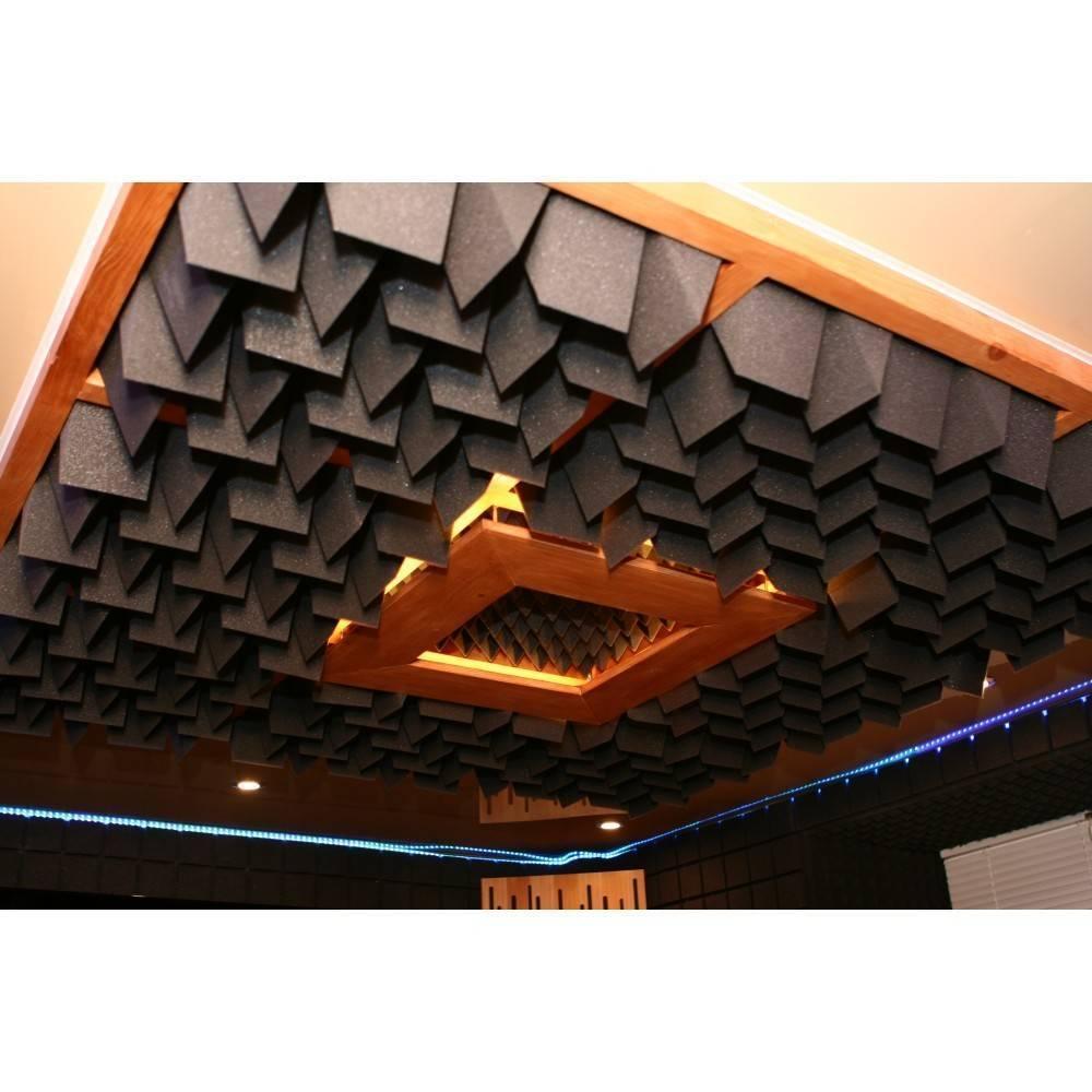 Акустический поролон для потолка: встраиваемая акустика, панели и системы, плиты и маты, тонкости выбора и монтажа