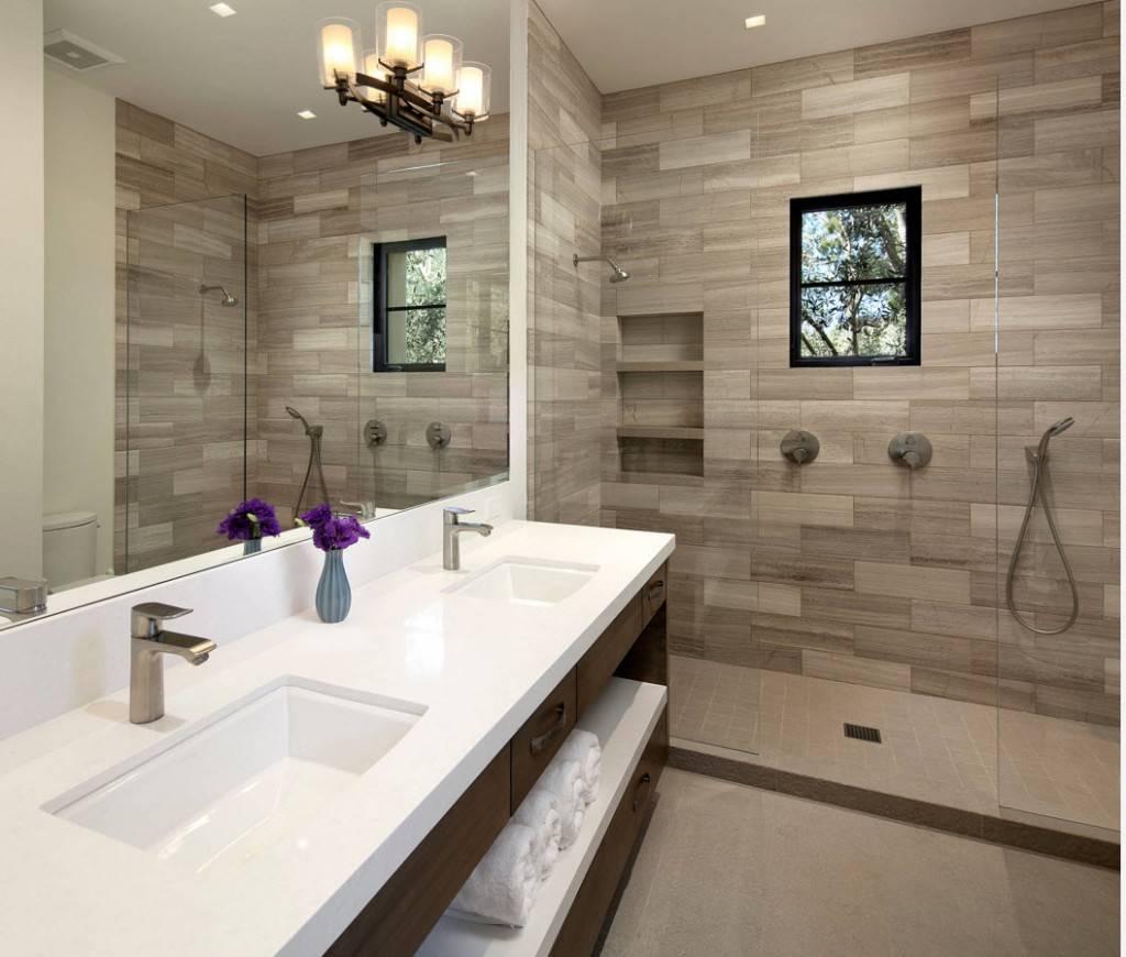 Чем отделать стены в ванной комнате: выбор материала, монтаж