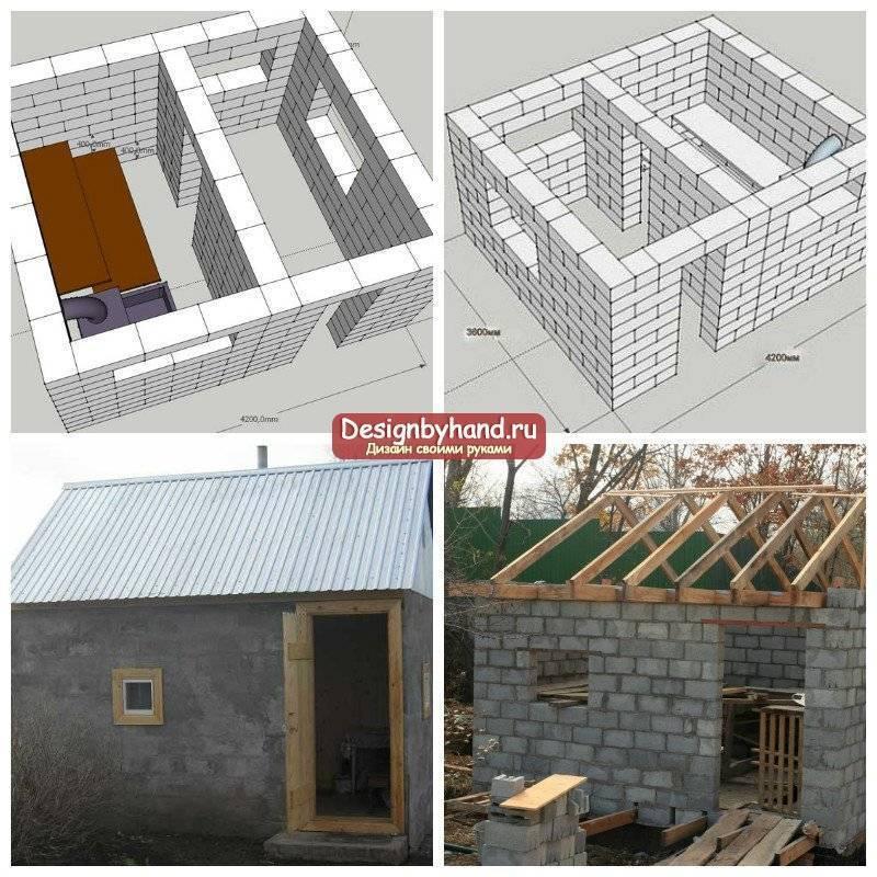 Сколько стоит построить дом из шлакоблоков своими руками, инструкция по кладке, фото и видео-уроки