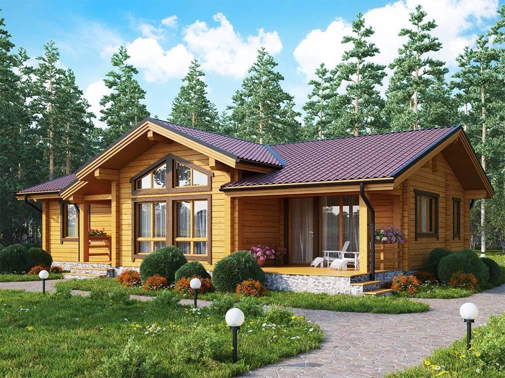 Проекты одноэтажных домов: 70 готовых решений для постройки дома
