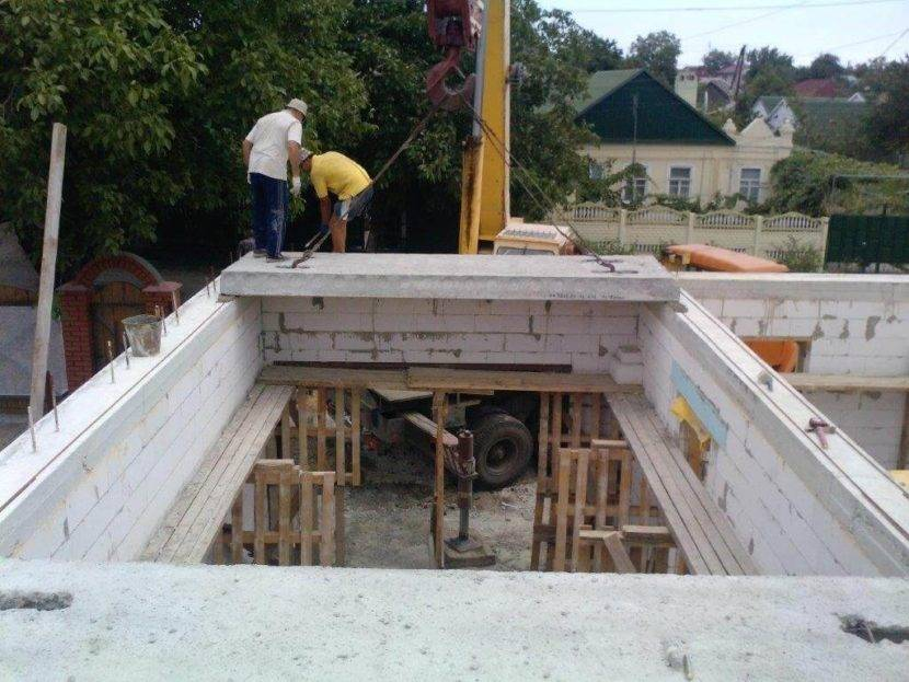 Сборно монолитное перекрытие из газобетона своими руками - строитель