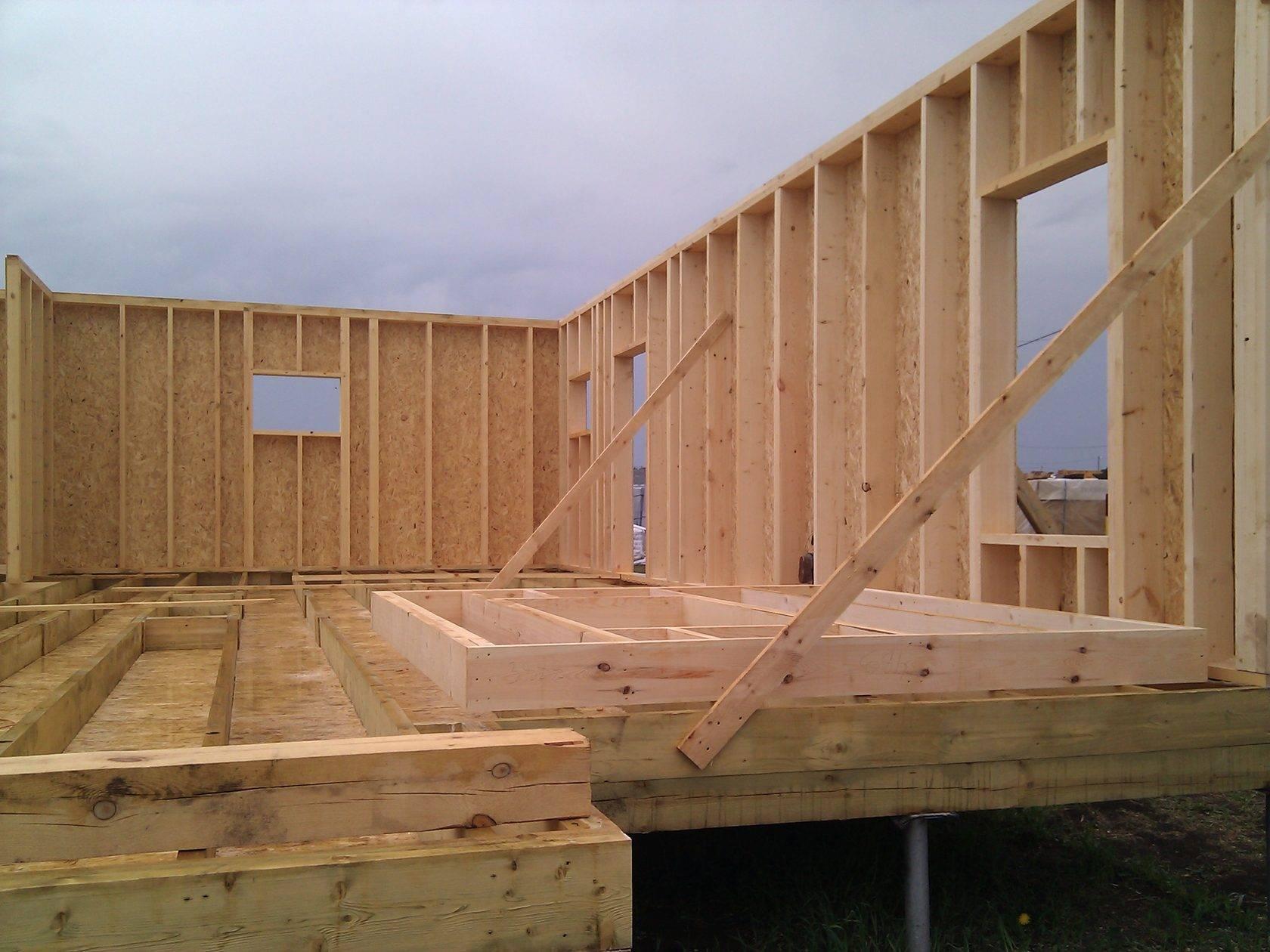 Особенности европейских и американских технологий строительства каркасных домов