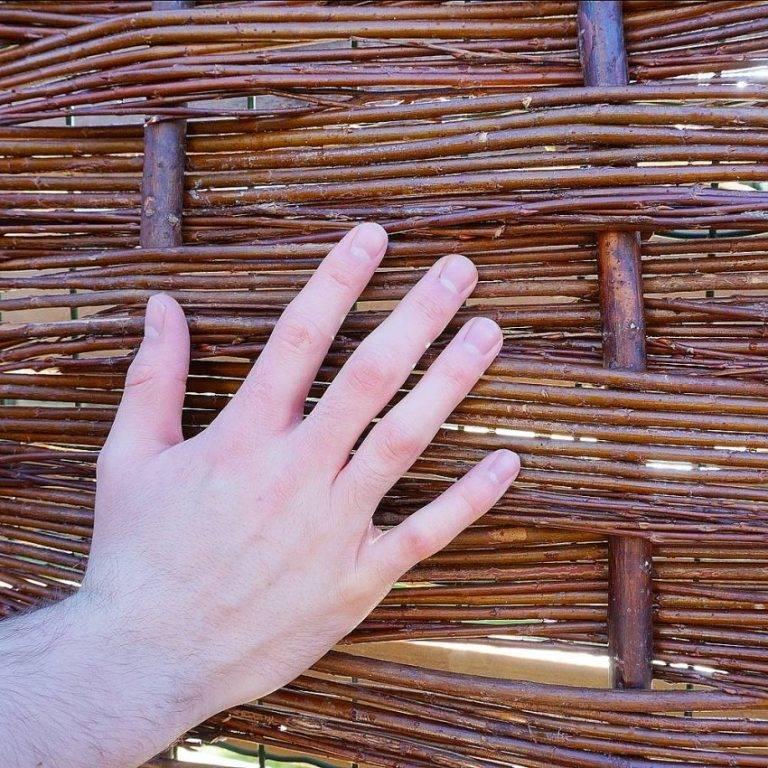 Плетеный забор своими руками: 95 фото и описание особенностей плетения