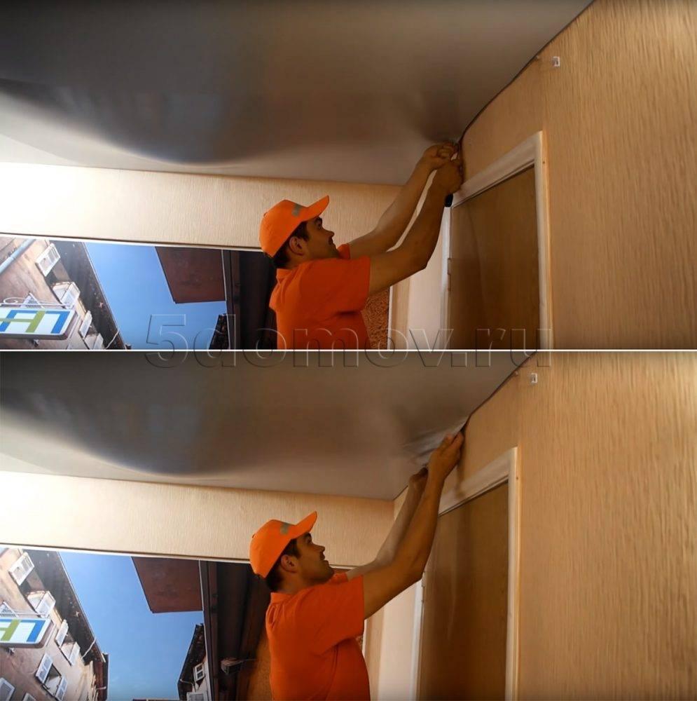 Что делать, если залили натяжной потолок: причины, демонтаж и устранения неполадок