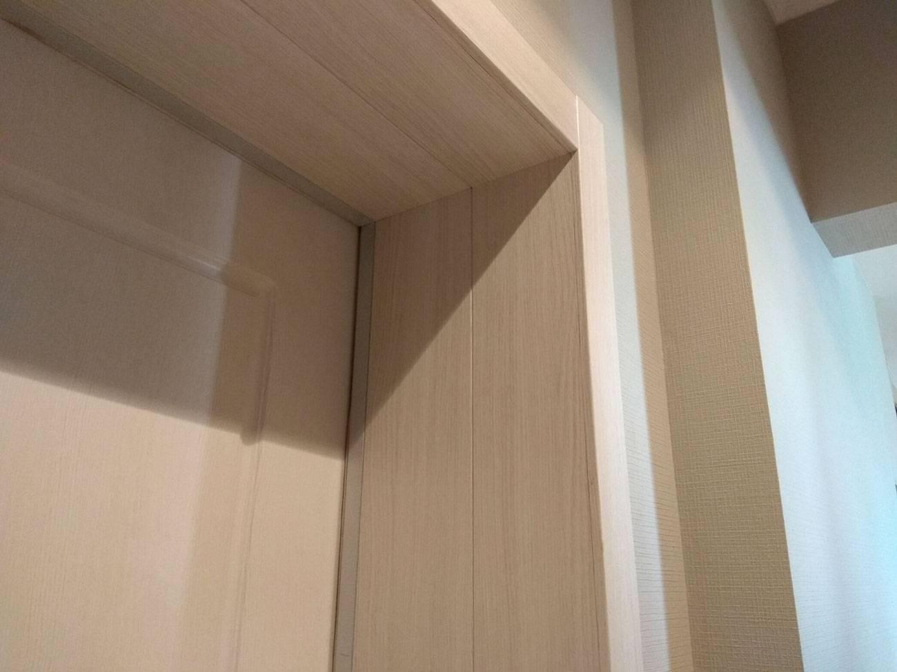 Откосы из ламината на входные двери: как правильно сделать?