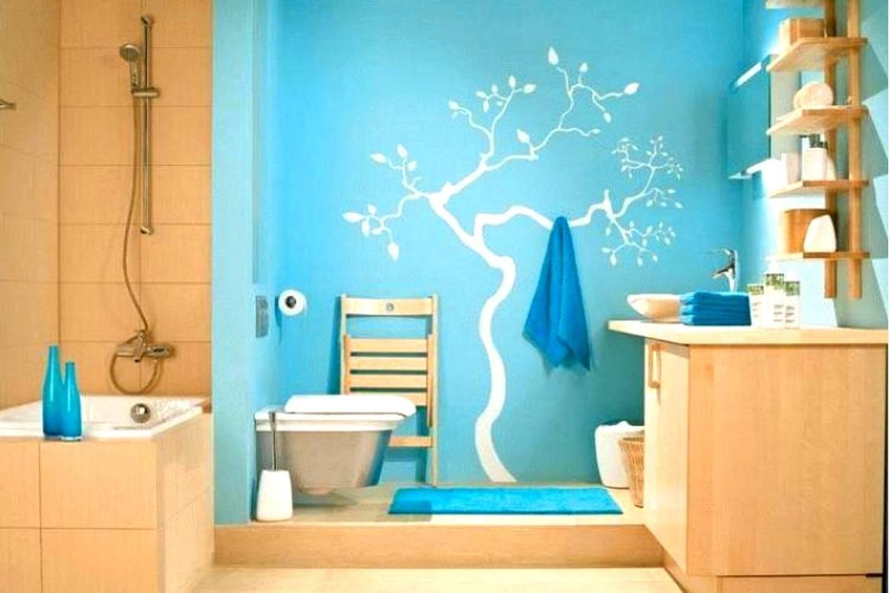 Как и чем покрасить потолок в ванной комнате своими руками — видео и фото