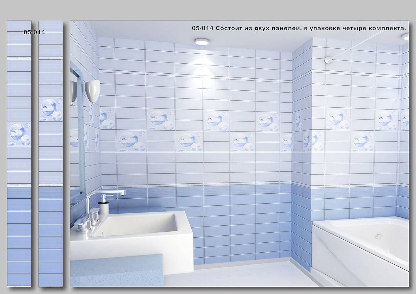 Стеновые панели для ванной - 89 фото идей современного интерьера!
