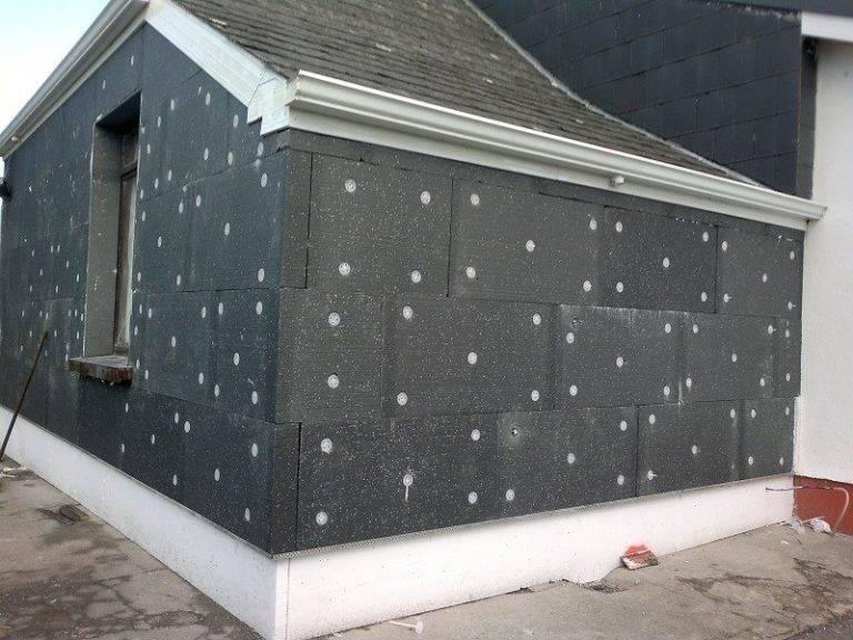 Утепление фасадов пенопластом своими руками: технология (фото и видео)