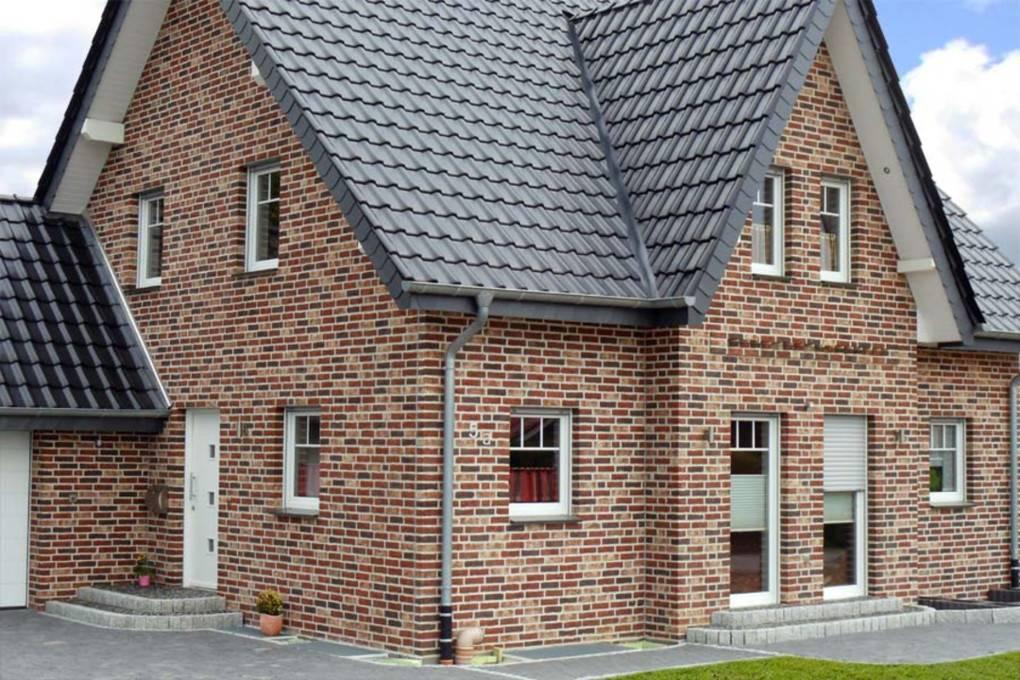 Облицовочный кирпич для фасада, показать варианты отделки
