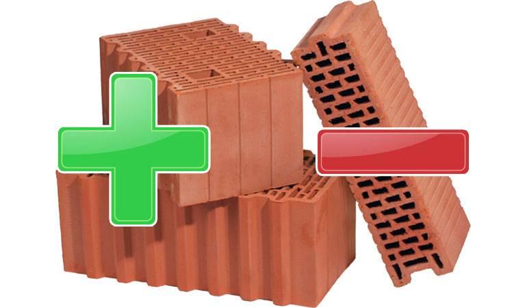 Поризованный керамический блок, недостатки и преимущества, что нужно знать каждому перед началом строительства. дом из теплой керамики: преимущества и недостатки материала что такое теплая керамика для строительства