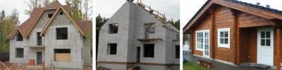Выбираем материал для стен дома: газобетон или клееный брус – что лучше?