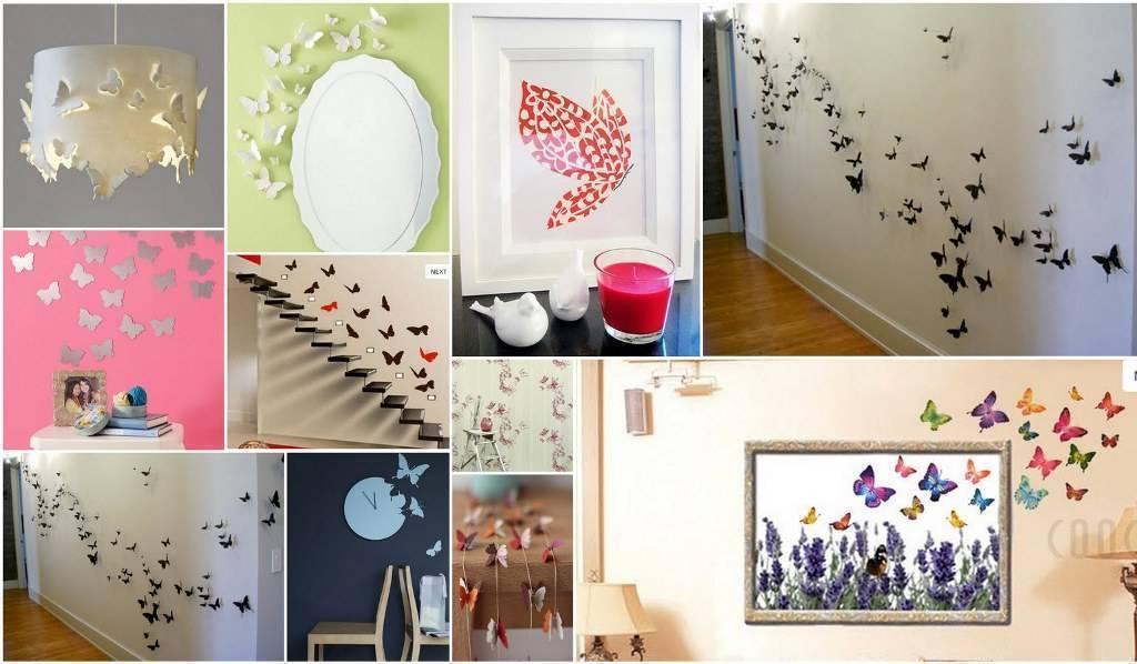 Как декорировать пустую стену в комнате?