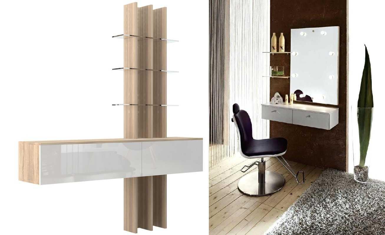Столик туалетный с зеркалом и подсветкой: обзор моделей по характеристикам