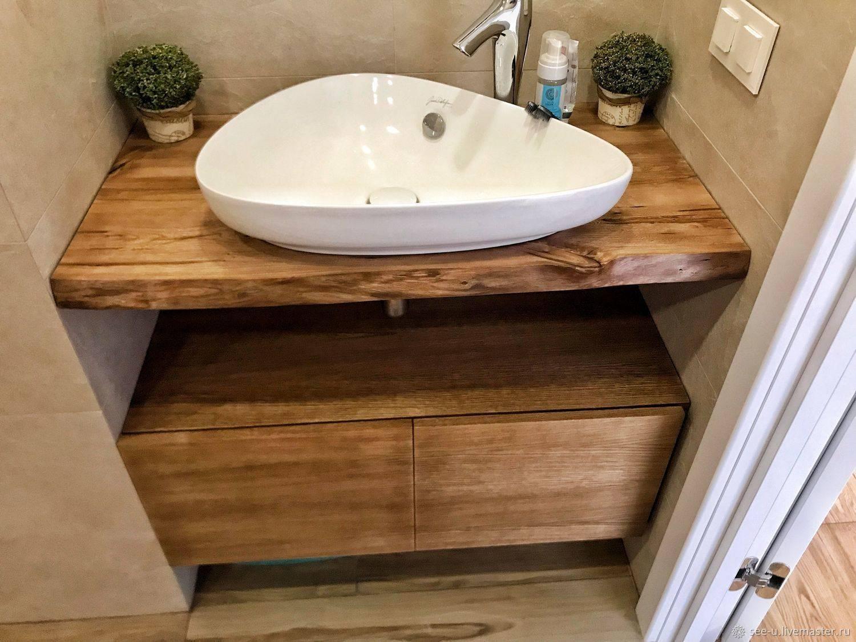 Столешница для ванной: как выбрать лучший вариант | ремонт и дизайн ванной комнаты