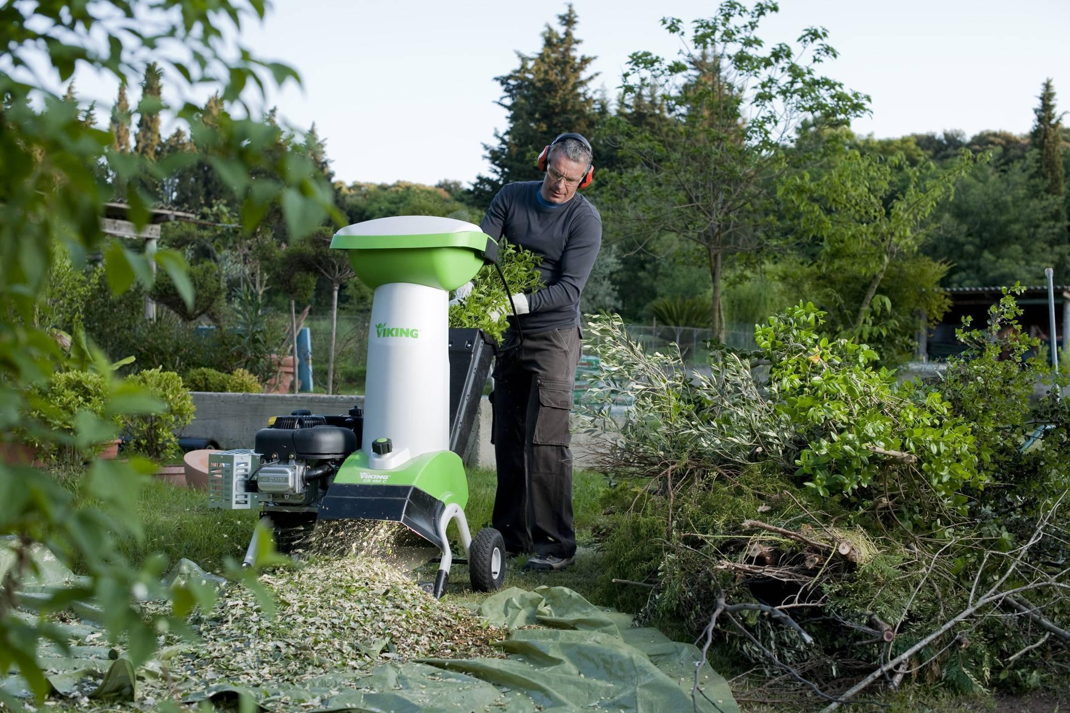 Выбираем садовый электрический измельчитель веток — рейтинг, лучшие модели