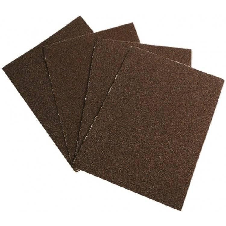 Наждачная бумага: виды зернистости, применение на дереве и металле, таблица классификации и маркировка