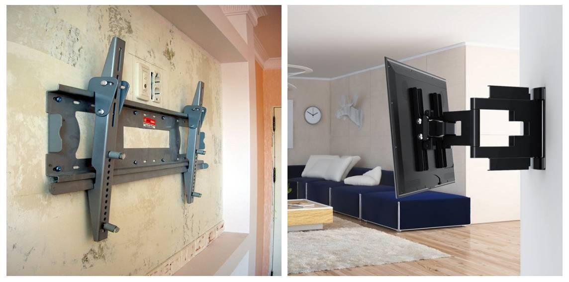 Установка телевизора на стену: как правильно выбрать крепления и повесить телевизор, рекомендации и инструкция