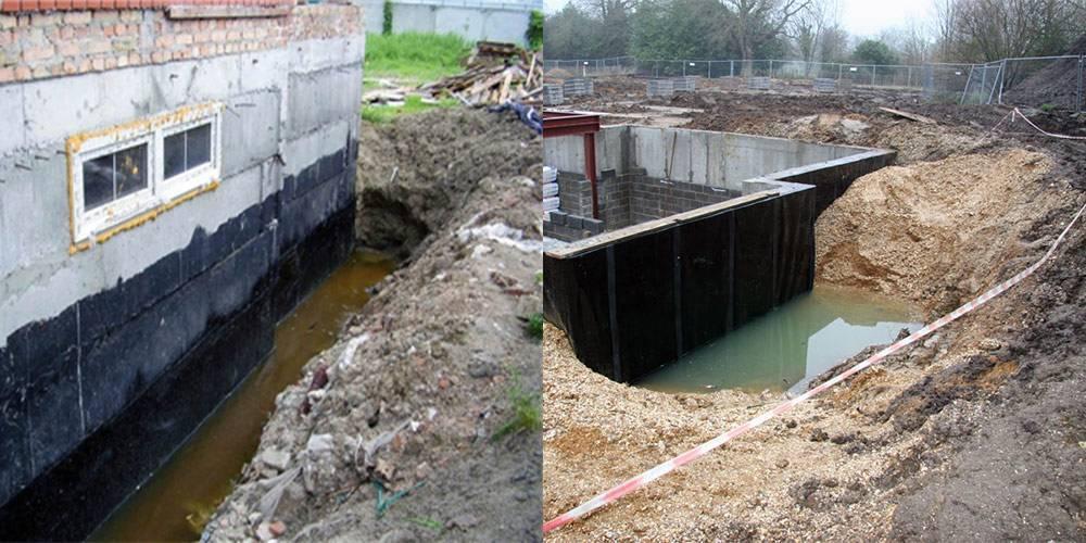 Заливка бетона в воду своими руками