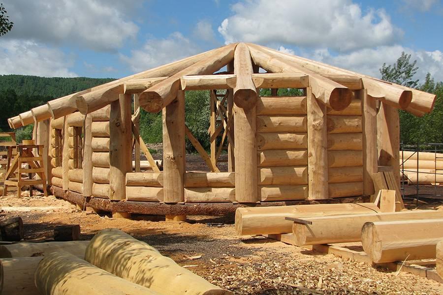 Cтроительство деревянных домов из бруса под ключ, готовые проекты, низкие цены.
